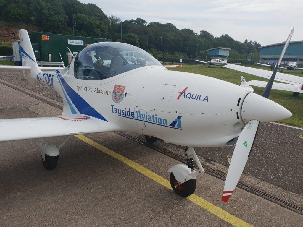 Tayside Aviation aircraft.